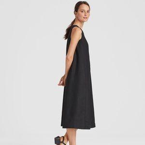 Eileen Fisher Linen A-Line Dress